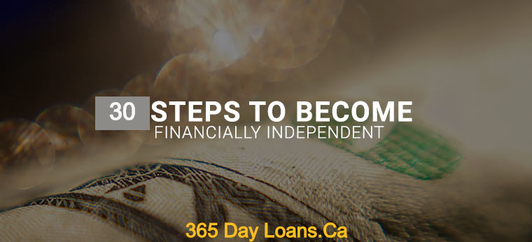 Tips To Become Financially Independent