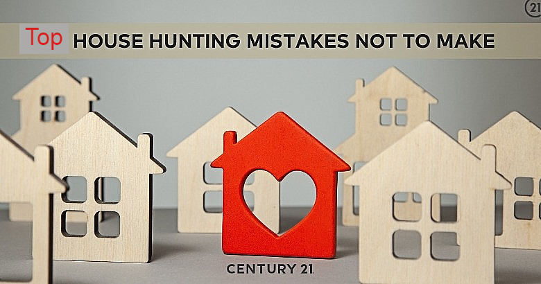 Top House-Hunting Mistakes